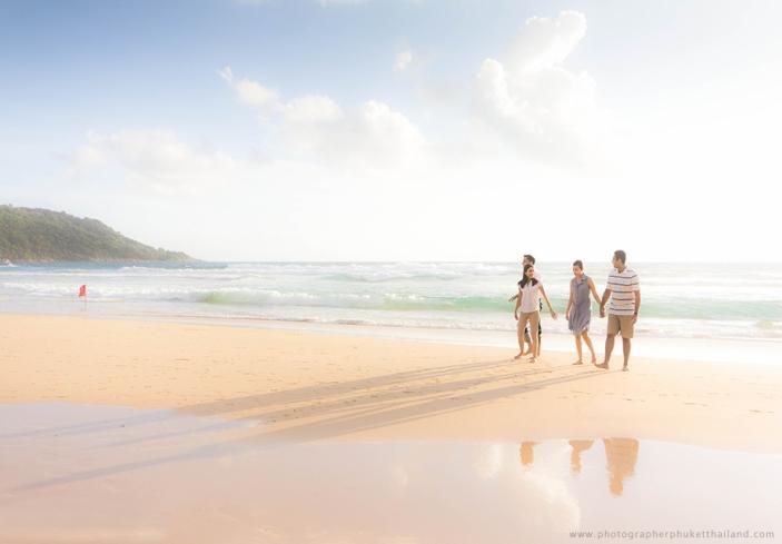 family photography at kata beach,phuket