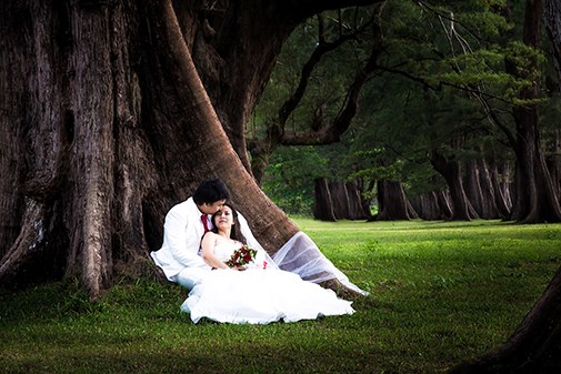pre-wedding photography