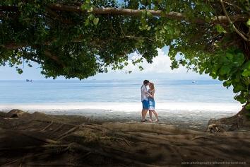 couple,honeymoon photography in koh yao yai , thailand