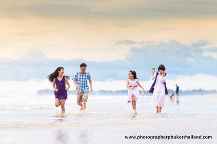 family photography at khao lak , phang nga , thailand