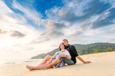 Honeymoon Couple photoshoot at phuket thailand