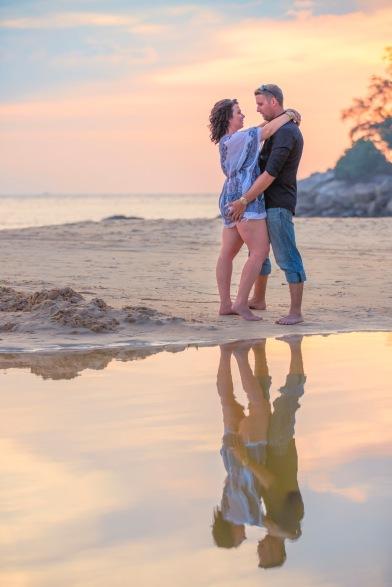 Honeymoon Couple photoshoot at phuket thailand