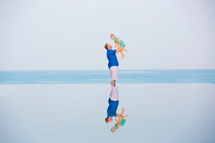 family photography at Sava natai beach phangnga thailand