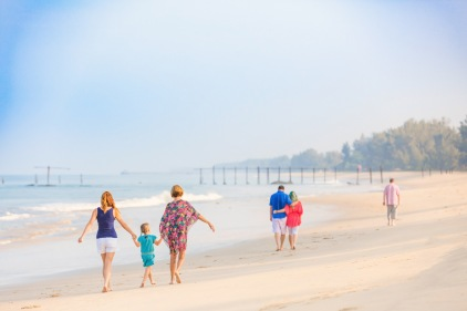 family photography at Sava natai phangnga thailand