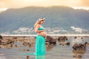 maternity photo session at phuket