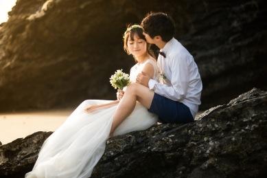 POST WEDDING PHOTOGRAPHY AT KRABI THAILAND