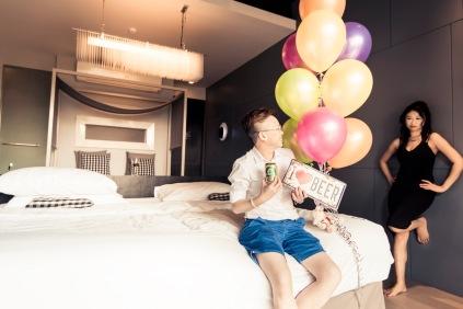 Birthday Surprise At Foto Hotel Phuket Photographer Phuket Thailand