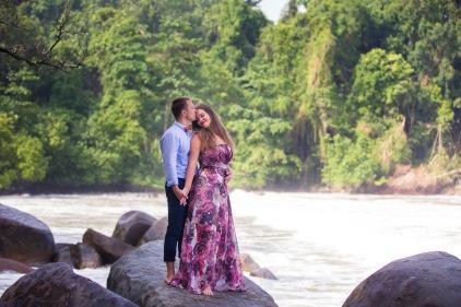 post wedding photo shooting at khao lak