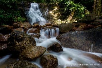 kathu waterfall phuket thailand