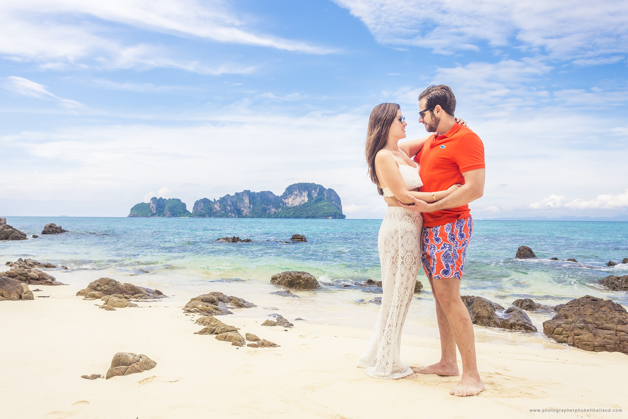 HONEYMOON PHOTOSHOOT AT Phi phi Krabi Thailand