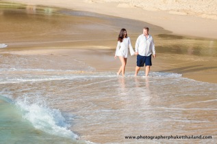 couple photoshoot at surin beach phuket