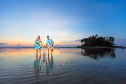 family photo session at Marriott phuket resort