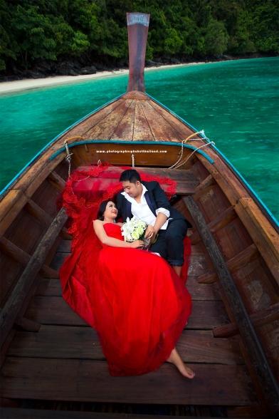 pre wedding photoshoot at PhiPhi island Krabi