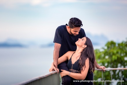 couple photoshoot at como point yamu Phuket