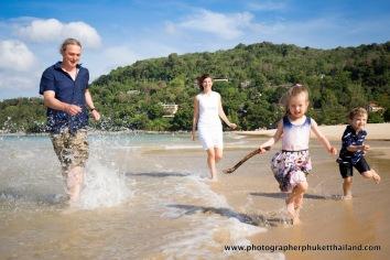 family photo session at phuket