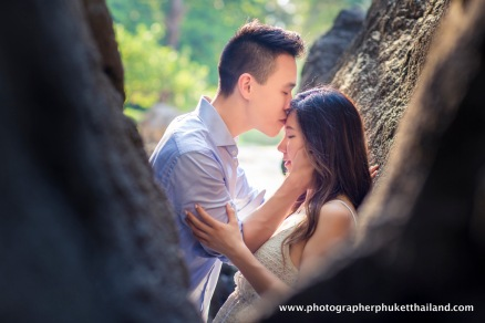 couple photoshoot at Railay beach Krabi Thailand