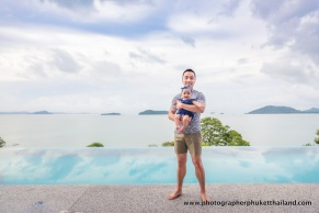 family photo session at como point yamu phuket