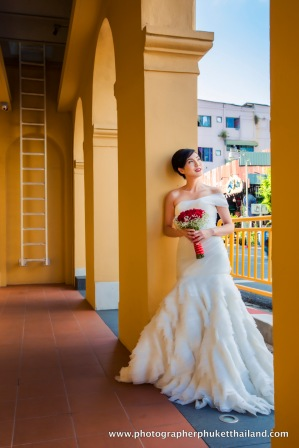 pre wedding photo session at old town phuket