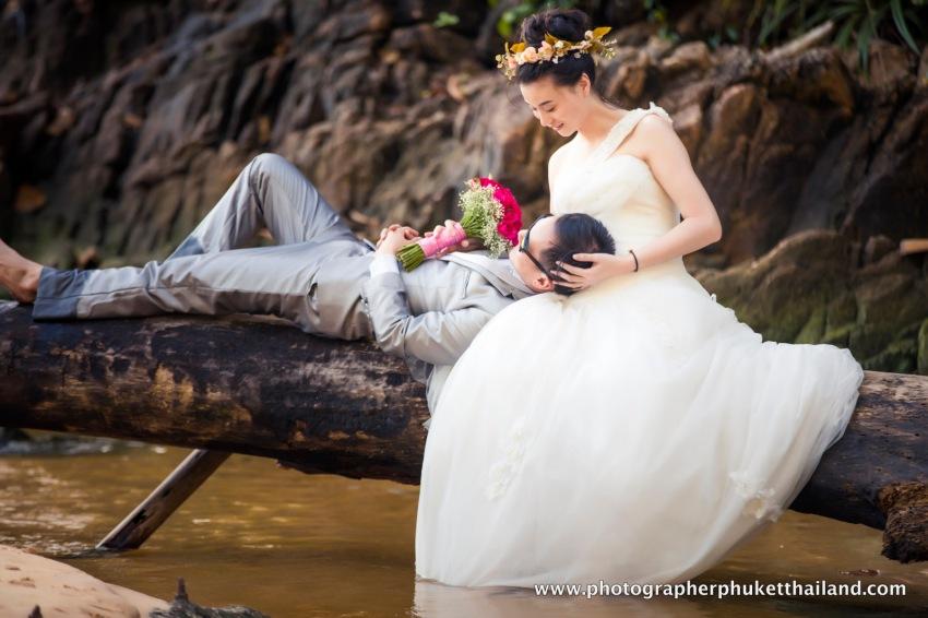 pre wedding photo session at naithon beach phuket