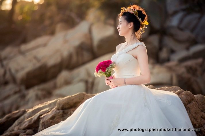 pre wedding photo session at naithon beach phuket