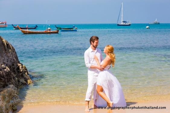 pre wedding photo session at phuket