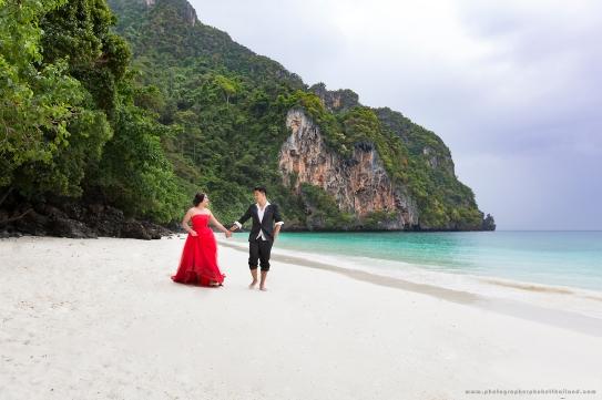 phi phi beach wedding photography