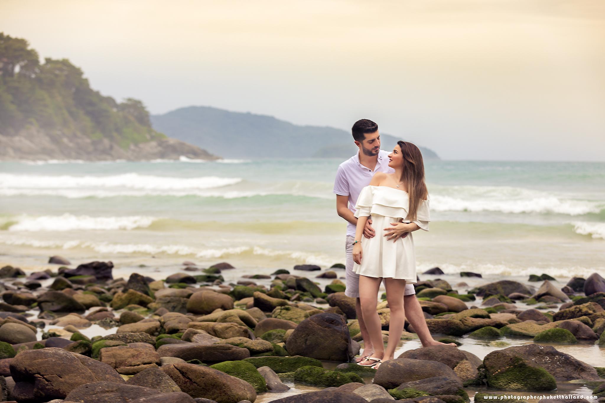 honeymoon photo session at phuket thailand