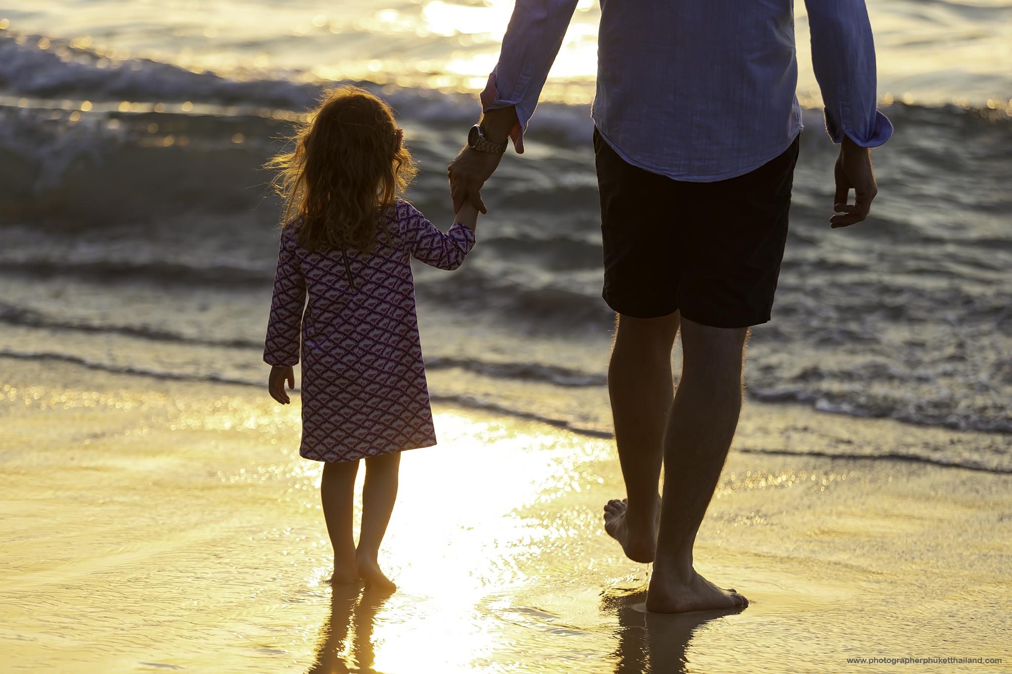 family photoshoot at Naithon beach Phuket