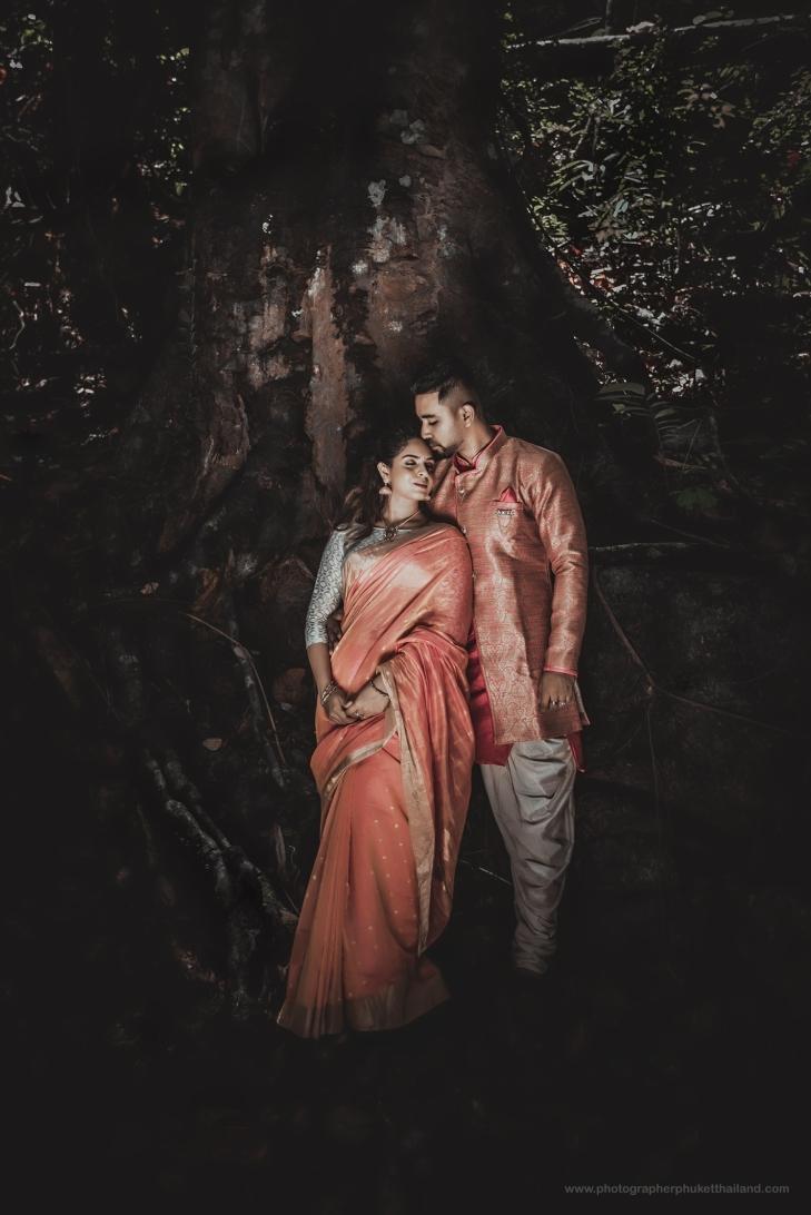 engagement photoshoot at kathu waterfall by photographerphuketthailand