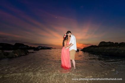 engagement photoshoot at phuket thailand