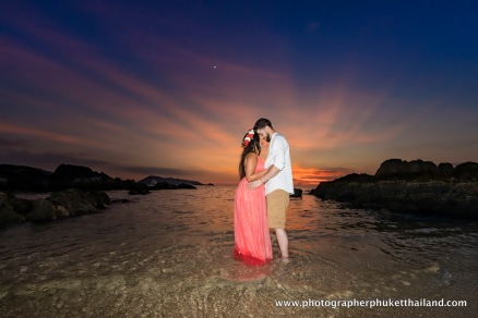 engagement photoshoot at phuket thailand