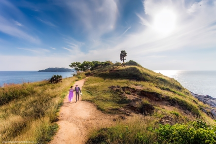 pre wedding photoshoot at promthep cape phuket thailand