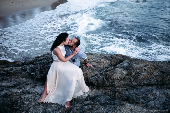 Honeymoon photoshoot at phuket thailand