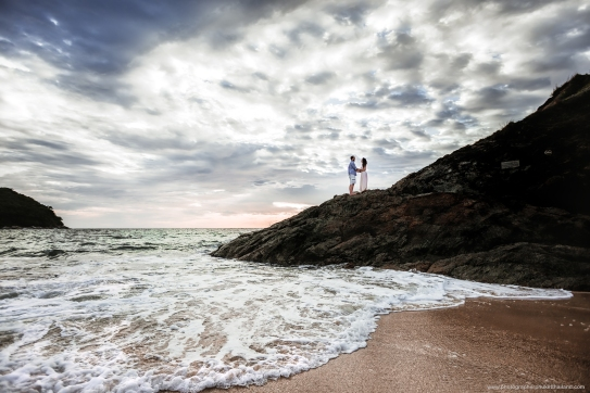 Honeymoon photoshoot at phuket thailand