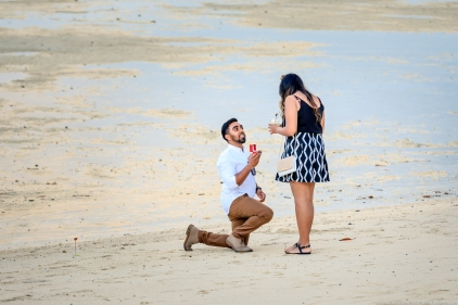 marriage proposal at phi phi island1