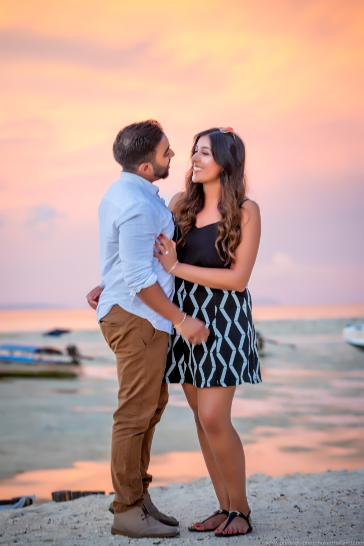 marriage proposal at phi phi island10