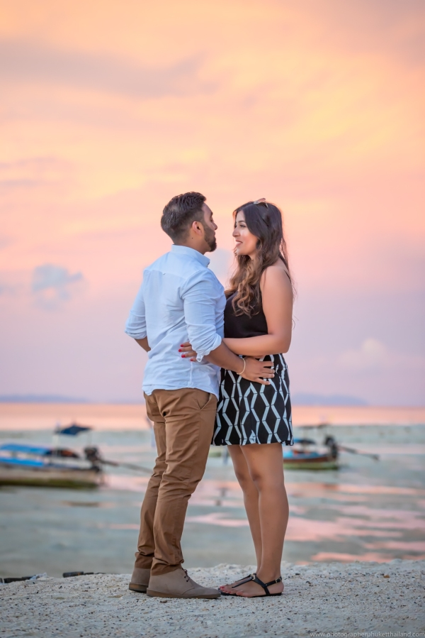 marriage proposal at phi phi island6