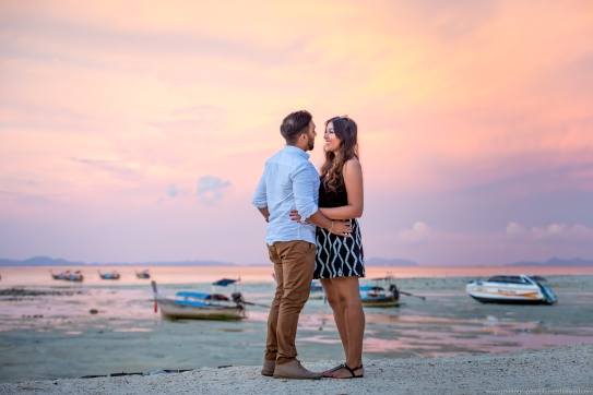 marriage proposal at phi phi island7