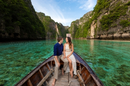 phi phi engagement photography