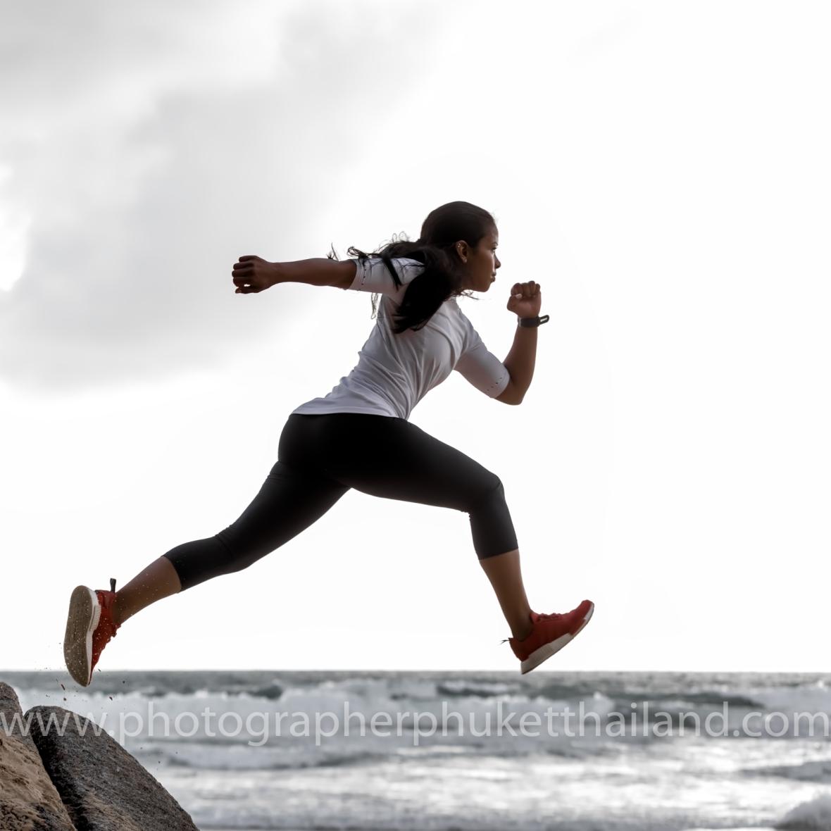 Sport trainer photoshoot at phuket