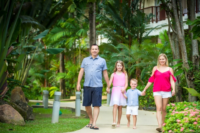 family photoshoot at phuket thailand