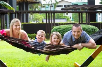 family photoshoot at phuket thailand
