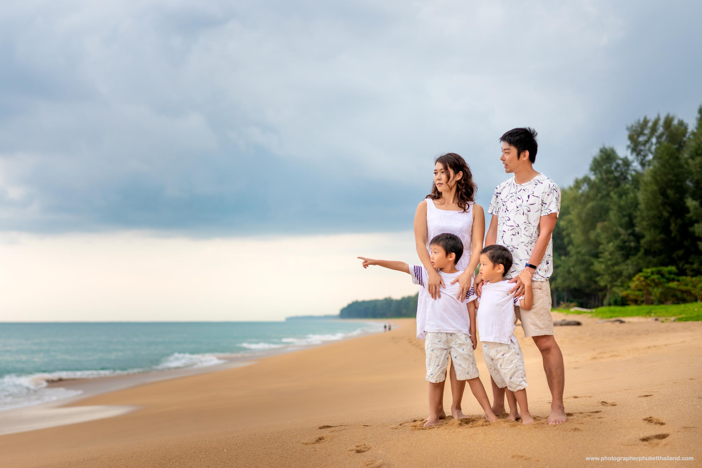 phuket family photoshoot