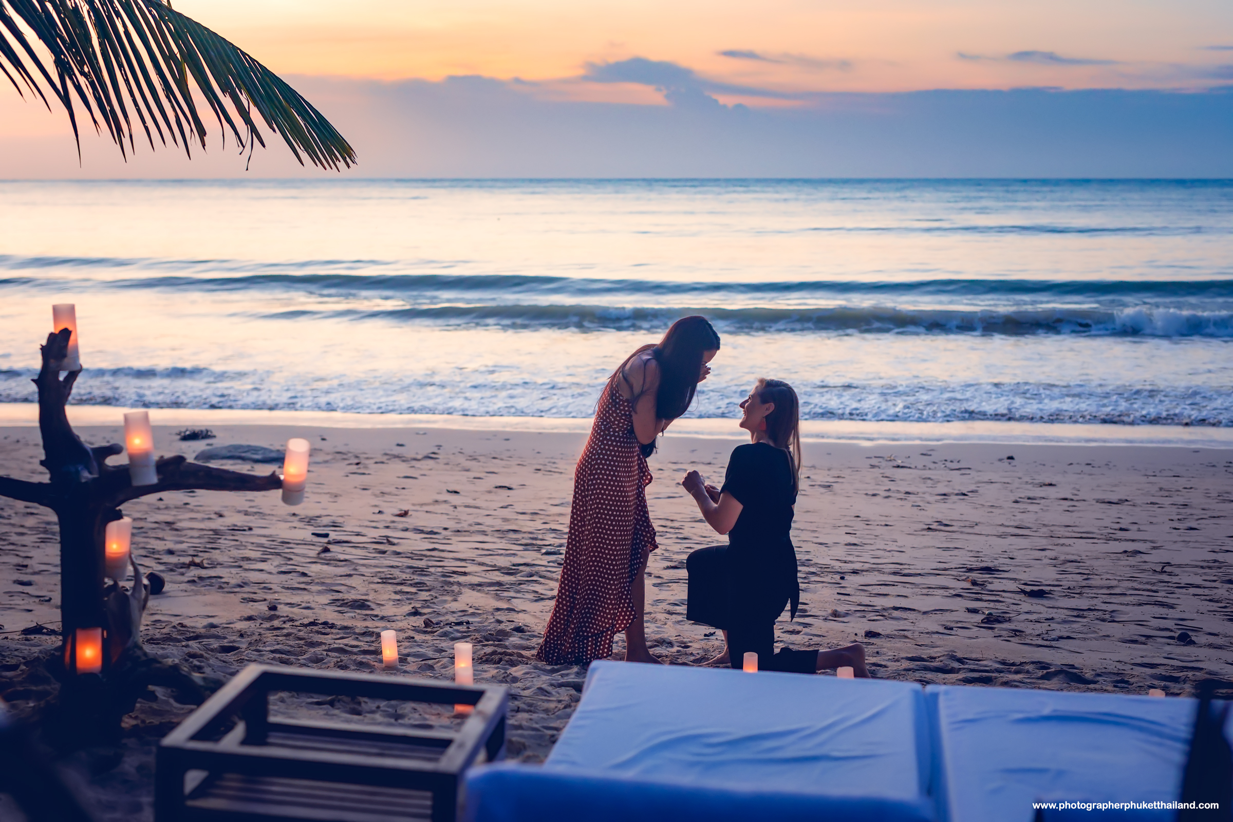 Khao lak marriage proposal photoshoot