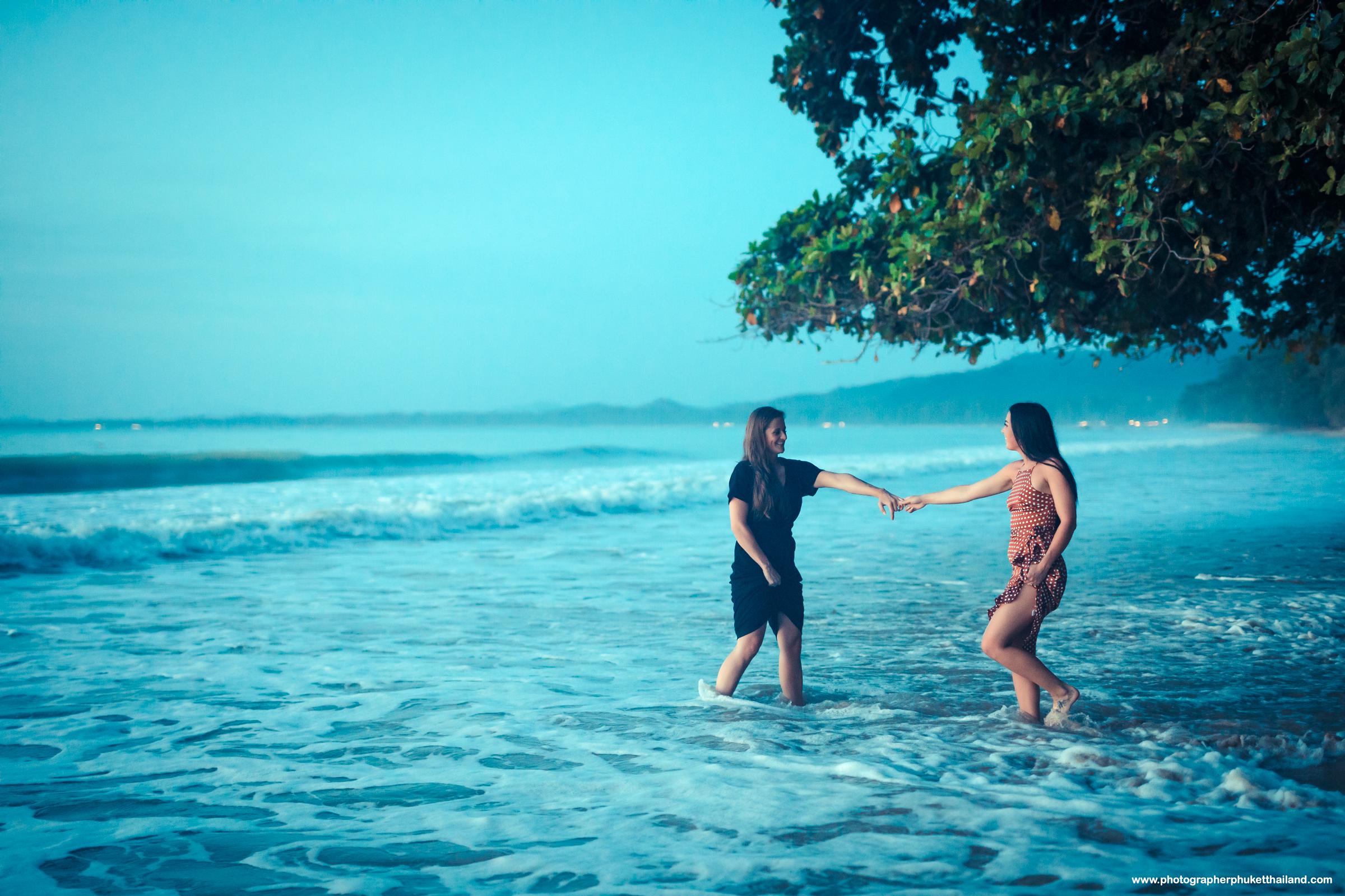 Khao lak marriage proposal photoshoot