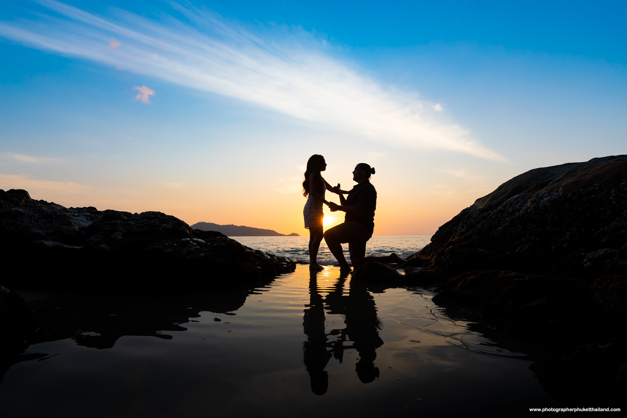 phuket marriage proposal photoshoot