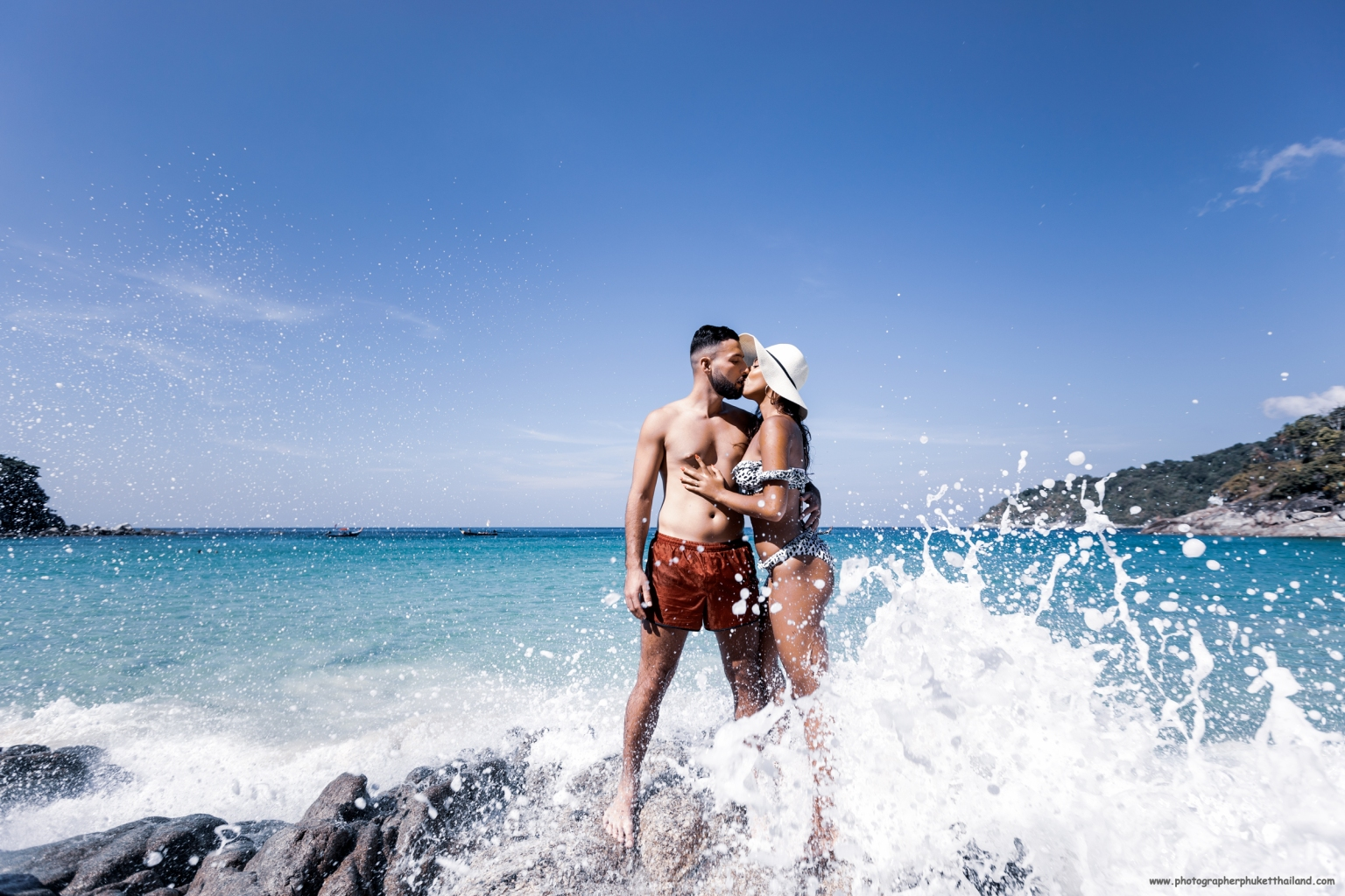 couple photoshoot at Freedom beach Phuket