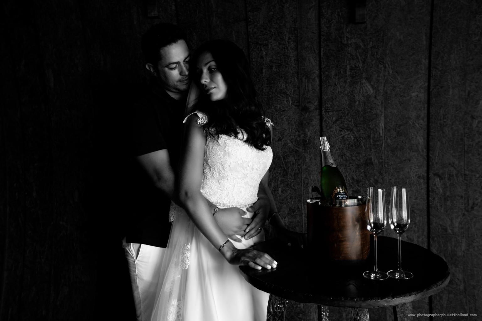 Post wedding photoshoot by phuket wedding photographer